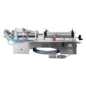 Semi Automatic Liquid Filling Machine Horizontal Single & Double Head Pneumatic Filling 100-1000ML